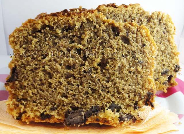 plum cake al supercaffè, dettaglio della lievitazione