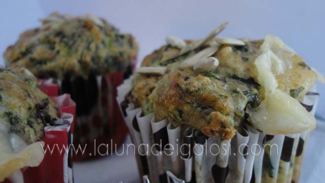 Muffin yogurt e spinaci: ...Sano e leggero!
