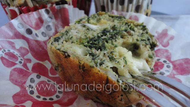 Muffin yogurt e spinaci: ...Booooni!