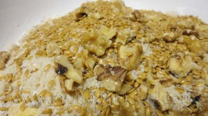 Galletas macrobióticas DIANA: añade los frutos secos y las semillas