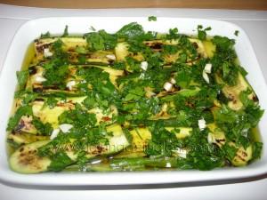 zucchine alla piastra