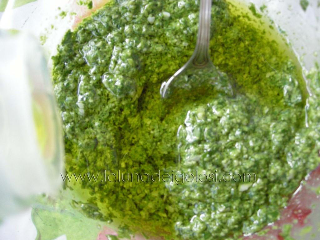 aggiungi l'olio d'oliva