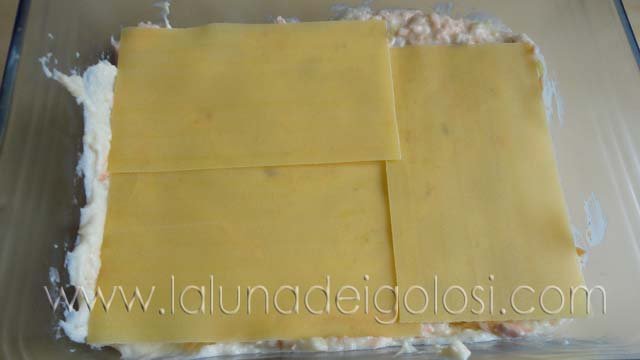 Lasagne con salmone e porri: e continua fino a esaurire le lasagne
