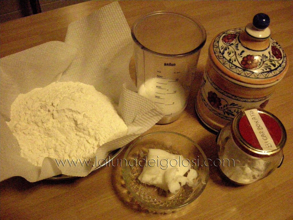 ingredienti della Piadina romagnola
