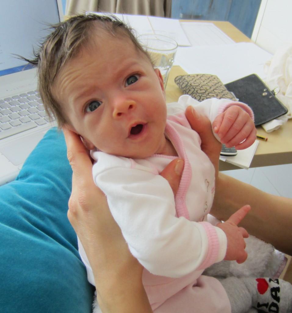 ecco la mia nipotina!