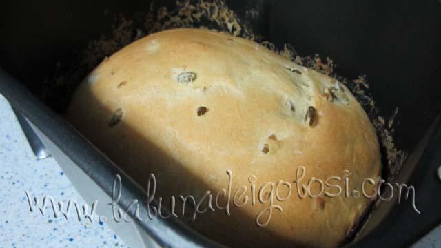 Avviate la macchina usando il Programma Base, per un pane di 750 g e con crosta di doratura media