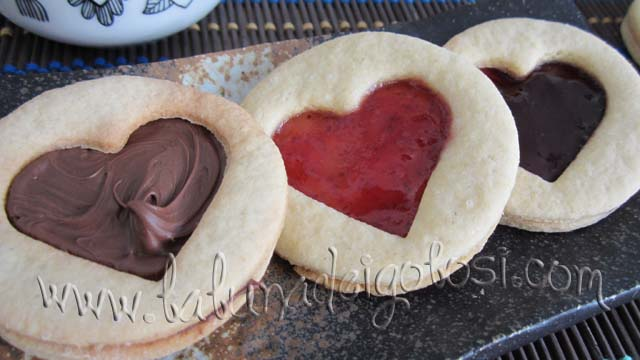 Biscotti con cuoricino