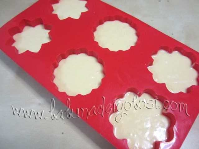 Muffin negli stampi di silicone