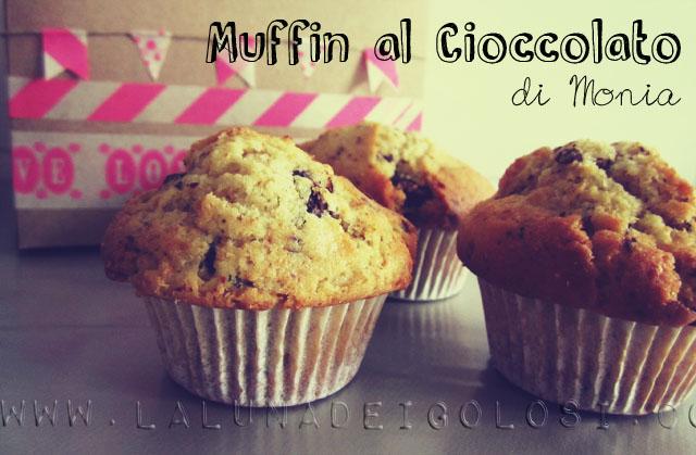 Muffin al Cioccolato di Monia