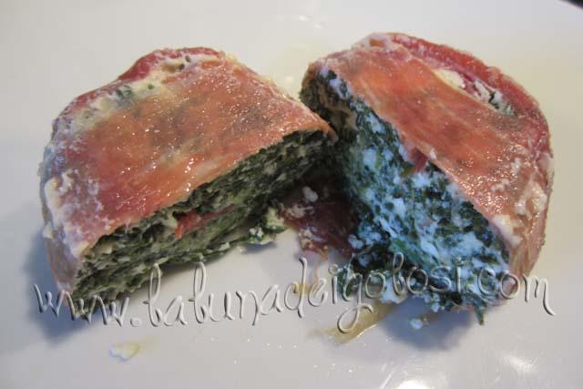 Porta in tavola i tuoi Tortini di prosciutto crudo e spinaci, dopo averli fatti intiepiedire