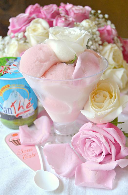 Gelato alle rose by Dolciagogo
