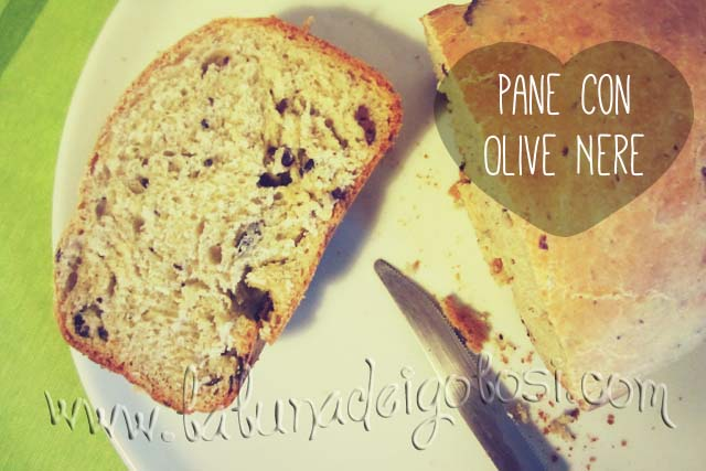 Pane alla Birra e Olive Nere