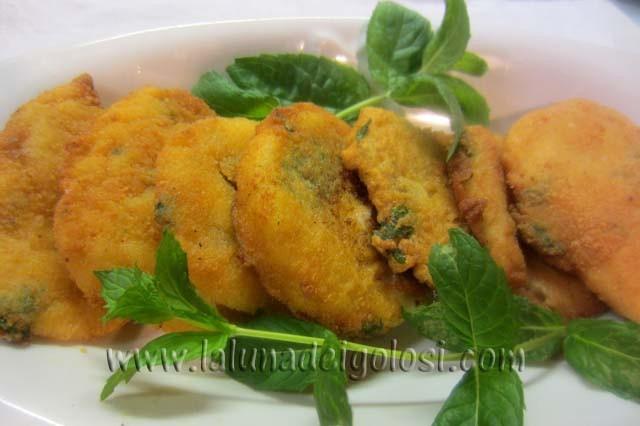 mozzarella fritta alla milanese