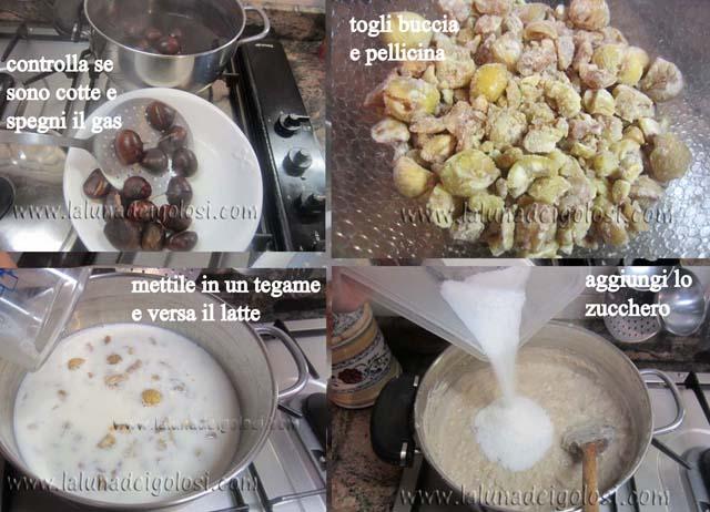 montebianco di castagne