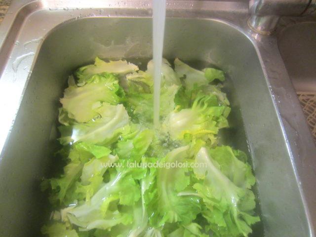 lava la verdura