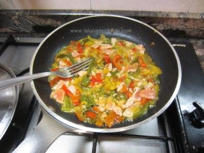 lascia cuocere per qualche minuto