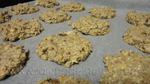 Galletas macrobióticas DIANA: Pon tus galletas en el horno