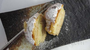 Muffin integrales con miel y...corazoncito de manzana