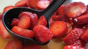 perchè le fragole si insaporiscano