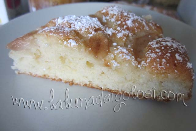 Ecco com'è questa torta alle pere!