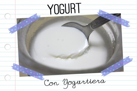 yogurt fatto in casa con yogurtiera