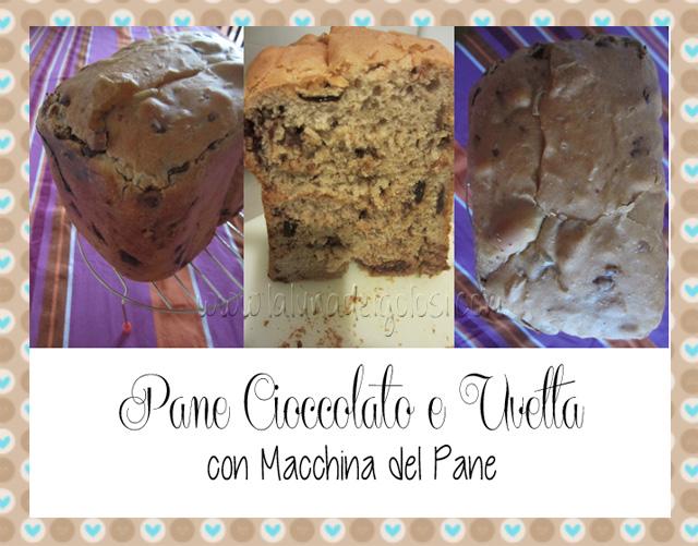 Oggi un post dedicato agli amanti di pane e lievitati: il protagonista, Pan Dolce con Cioccolato e Uvetta, è un buonissimo pane dolce da fare con la MdP ma che possiamo anche