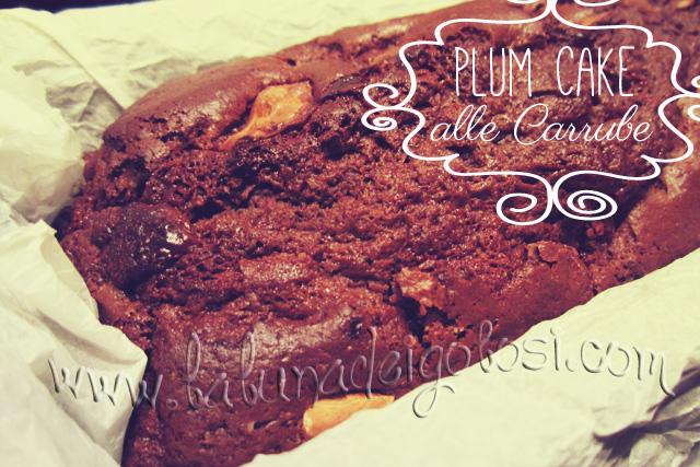 Plum-Cake alle Carrube e Latte di Riso