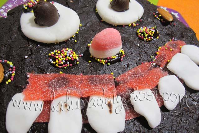 torta paesana versione halloween 2