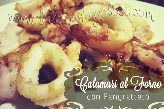 Calamari al forno con pangrattato