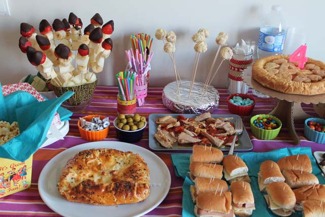 buffet compleanno brithay