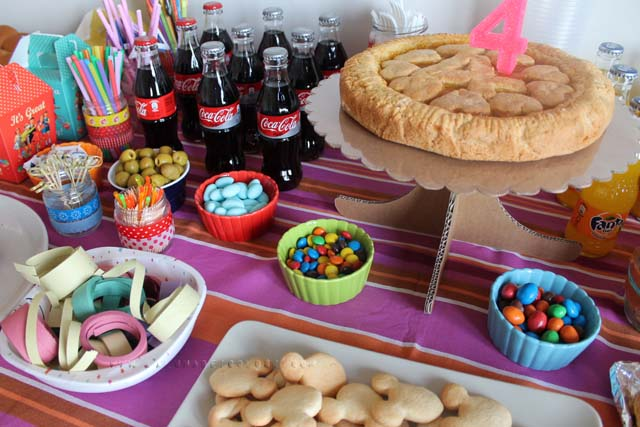 buffet compleanno diana